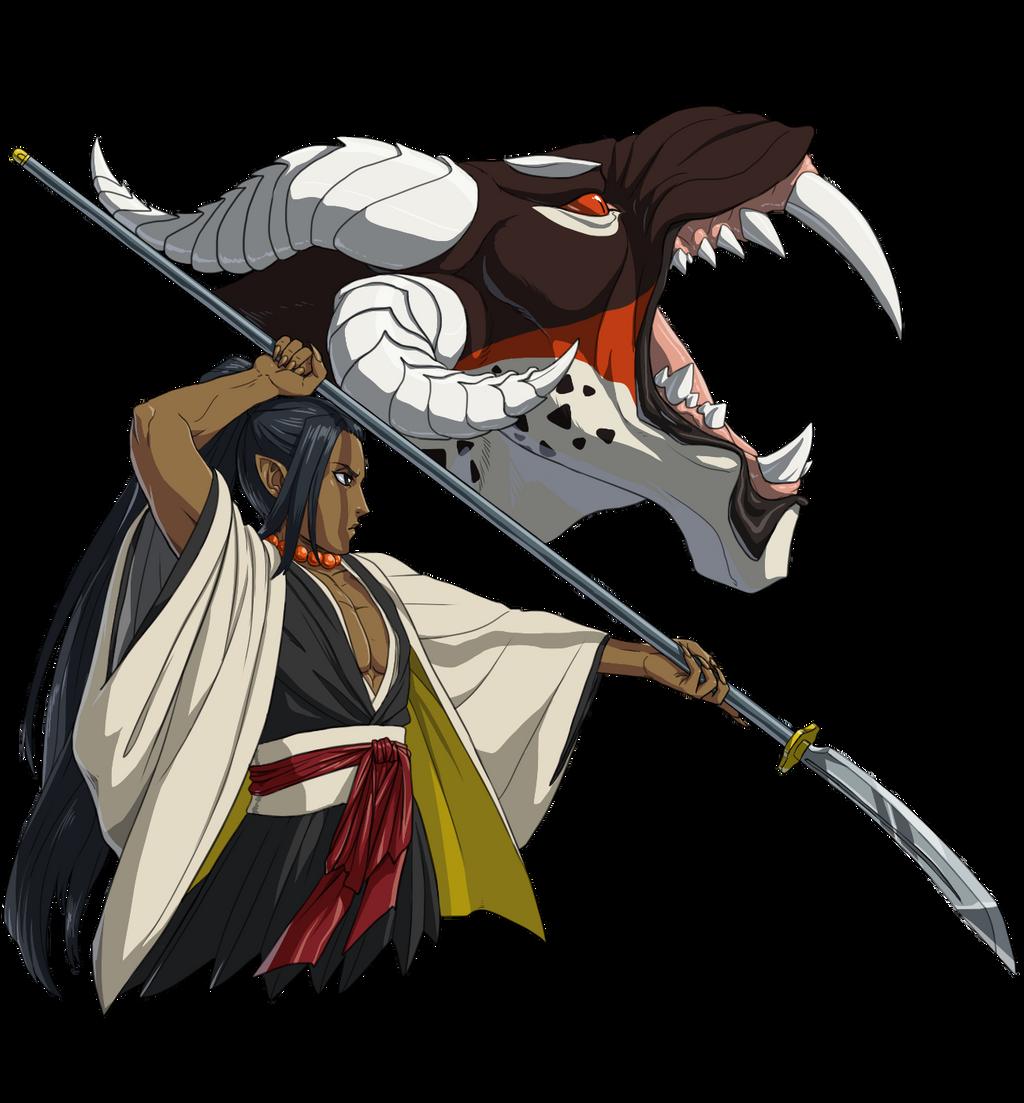 Bleach Oc Hakugin Jin By Sarzill On Deviantart: OC Captains On Bleach-OC-Characters