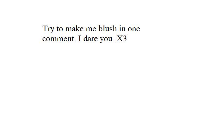 you make me blush meme - photo #27