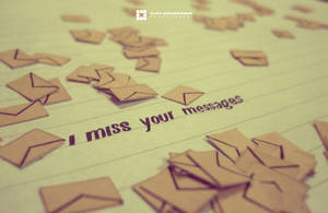 I miss your messages by sujithrk