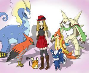 Pokemon XY Team