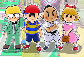 Earthbound by dxcamatic