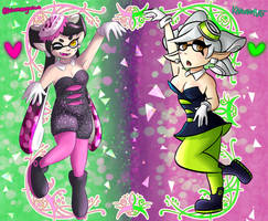 [COLLAB] Squid Sisters Redone by dxcamatic