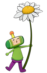 Prince of Katamari Transparent by dxcamatic