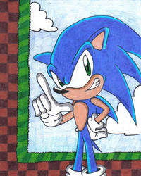 Sonic in Green Hill