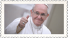 Papa Francesco (stamp) by hormonours