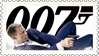 007 (stamp) by hormonours