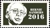 Bernie Sanders 2016 (stamp) by hormonours