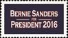 Bernie Sanders for President 2016 (stamp)