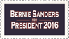 Bernie Sanders for President 2016 (stamp) by hormonours