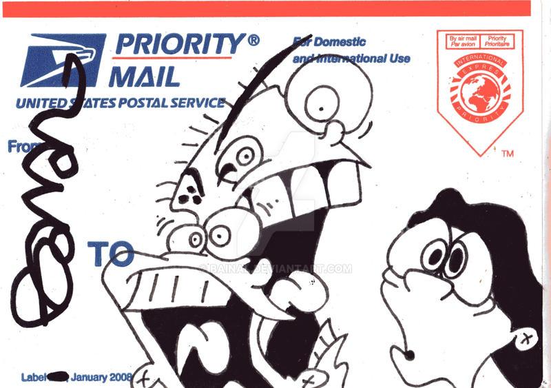 USPS Sticker 15 by Bainal