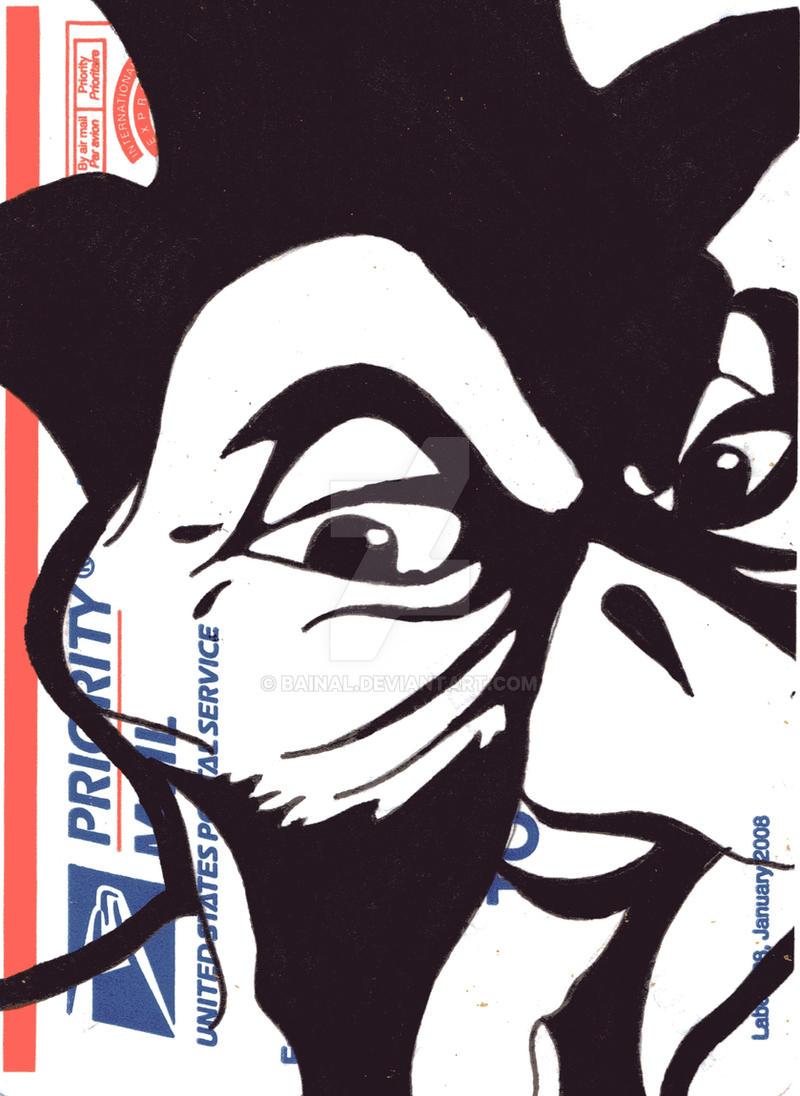 USPS Sticker 17 by Bainal