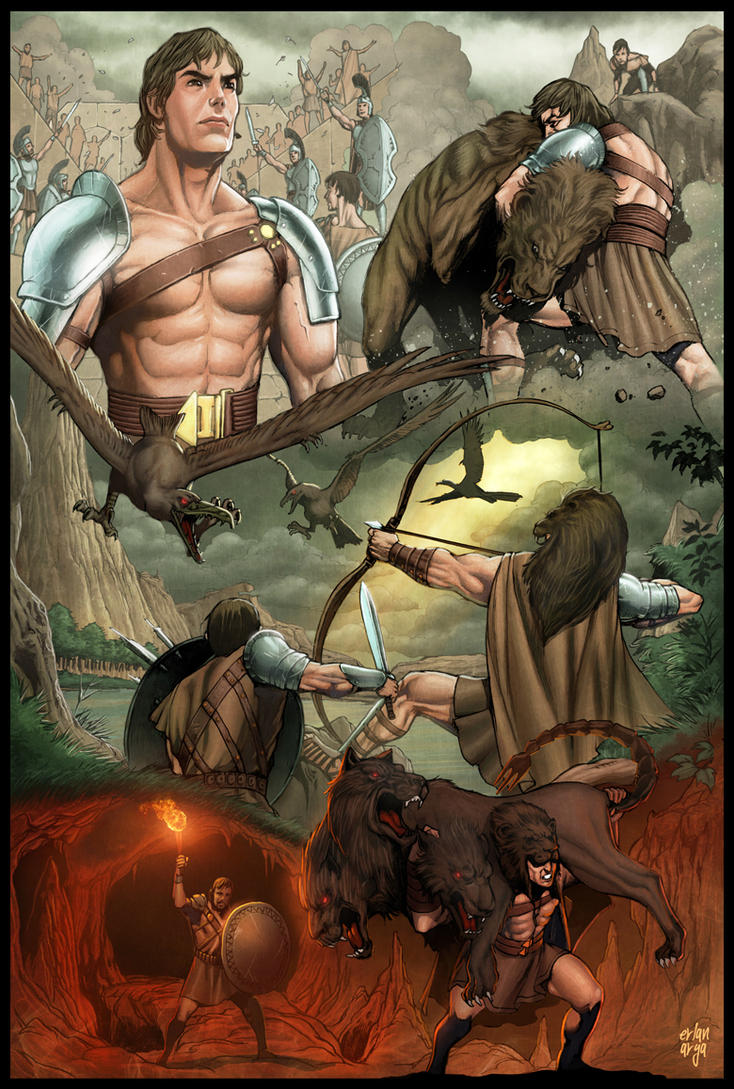 Hercules The Thracian Wars #1 by erlanarya on DeviantArt