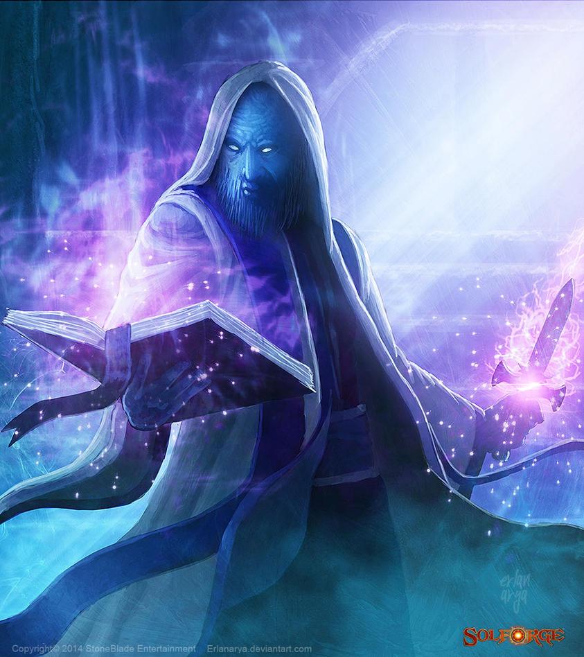 Crypt Conjurer by erlanarya