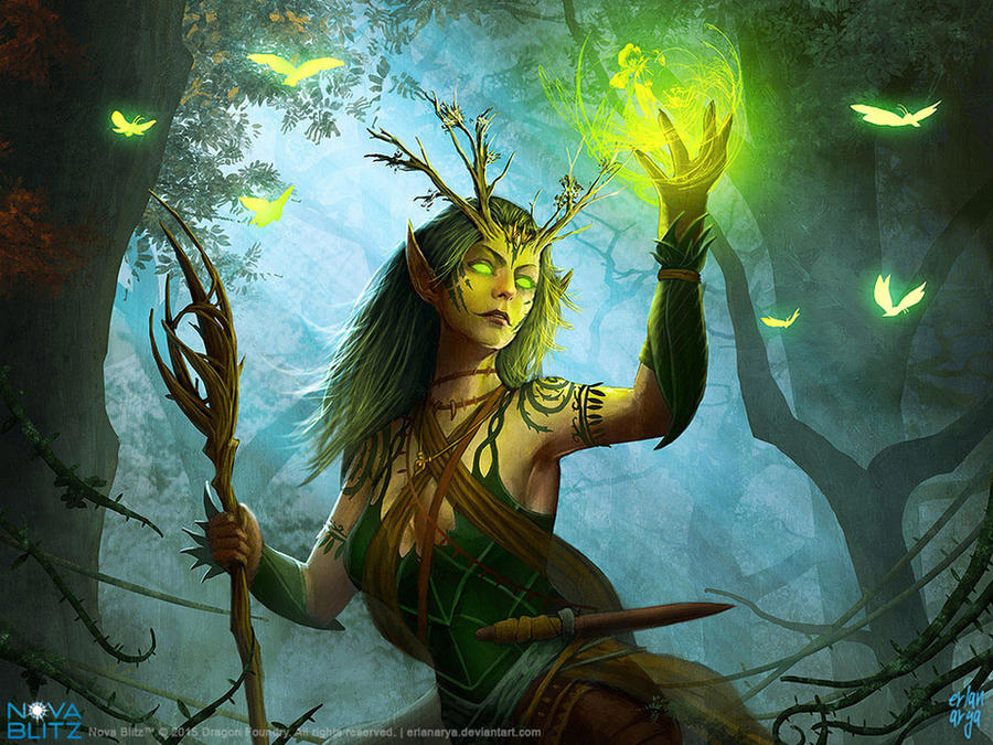Druid by erlanarya
