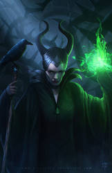 Maleficent by erlanarya