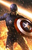 Captain America - Civil War by erlanarya