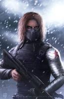 Winter Soldier by erlanarya