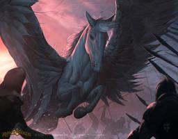 Pegasus by erlanarya