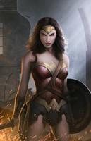 Wonder Woman by erlanarya