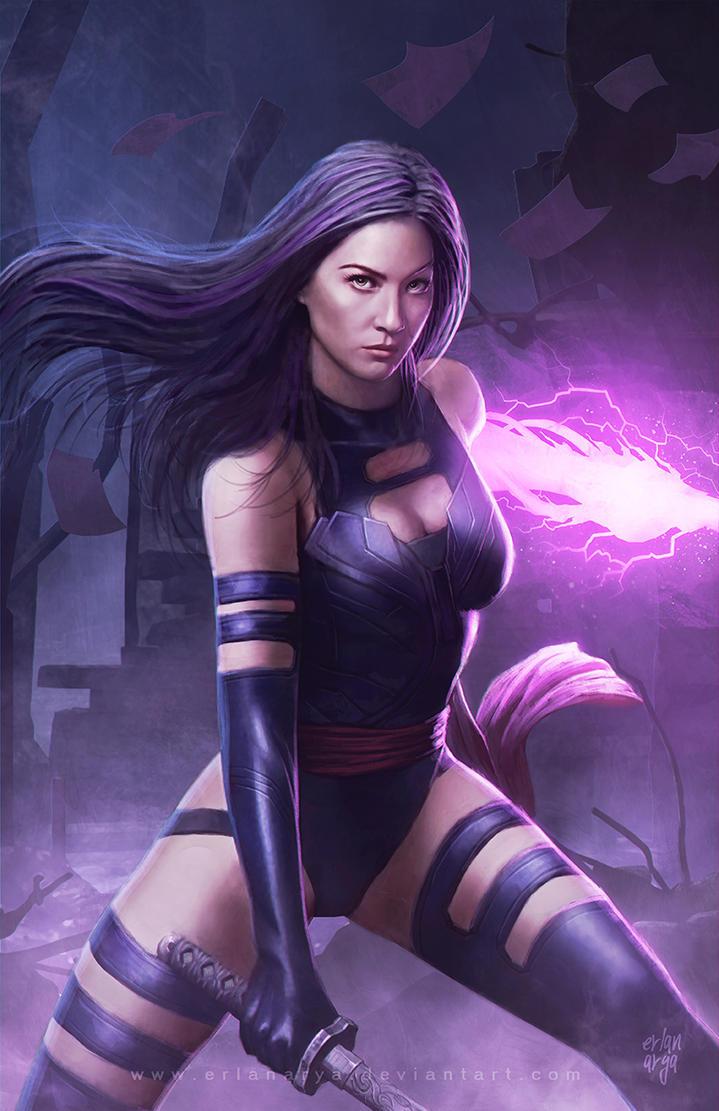 Psylocke by erlanarya