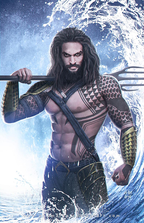 Aquaman by erlanarya