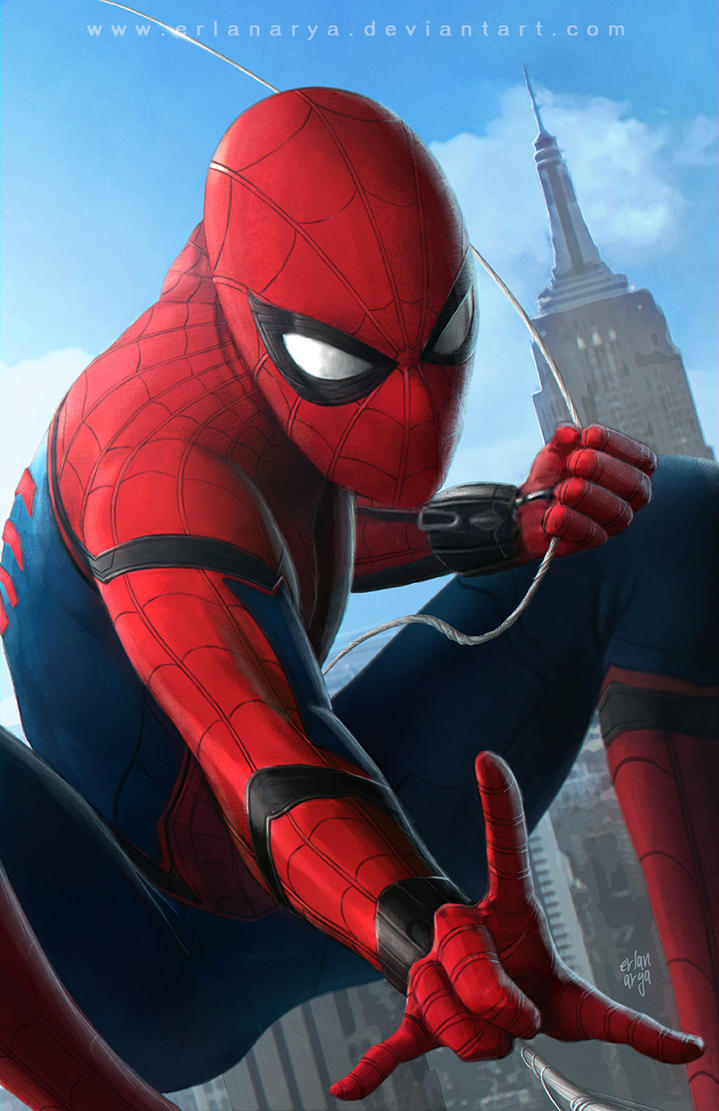 Spider-Man : Homecoming by erlanarya