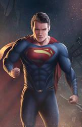 Man of Steel by erlanarya