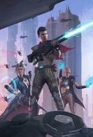Dystopian League by erlanarya