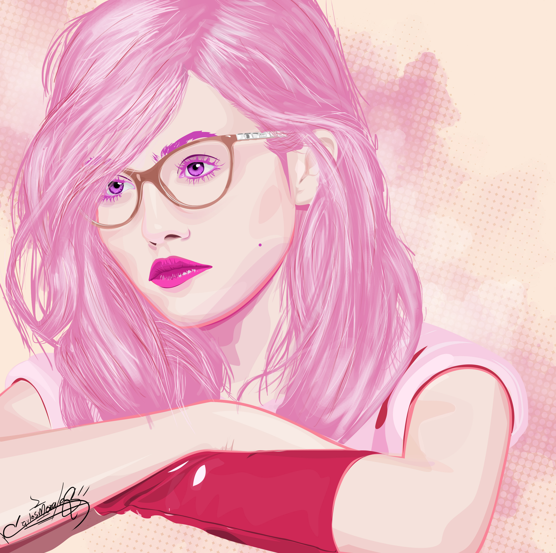 Vexel  ART : Girl Pink Finish
