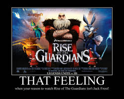 Reason to watch Rise of The Guardians by identity511