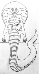 Cobra Monica by czarnadupa