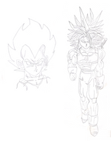 Trunks And Vegeta by Luno939