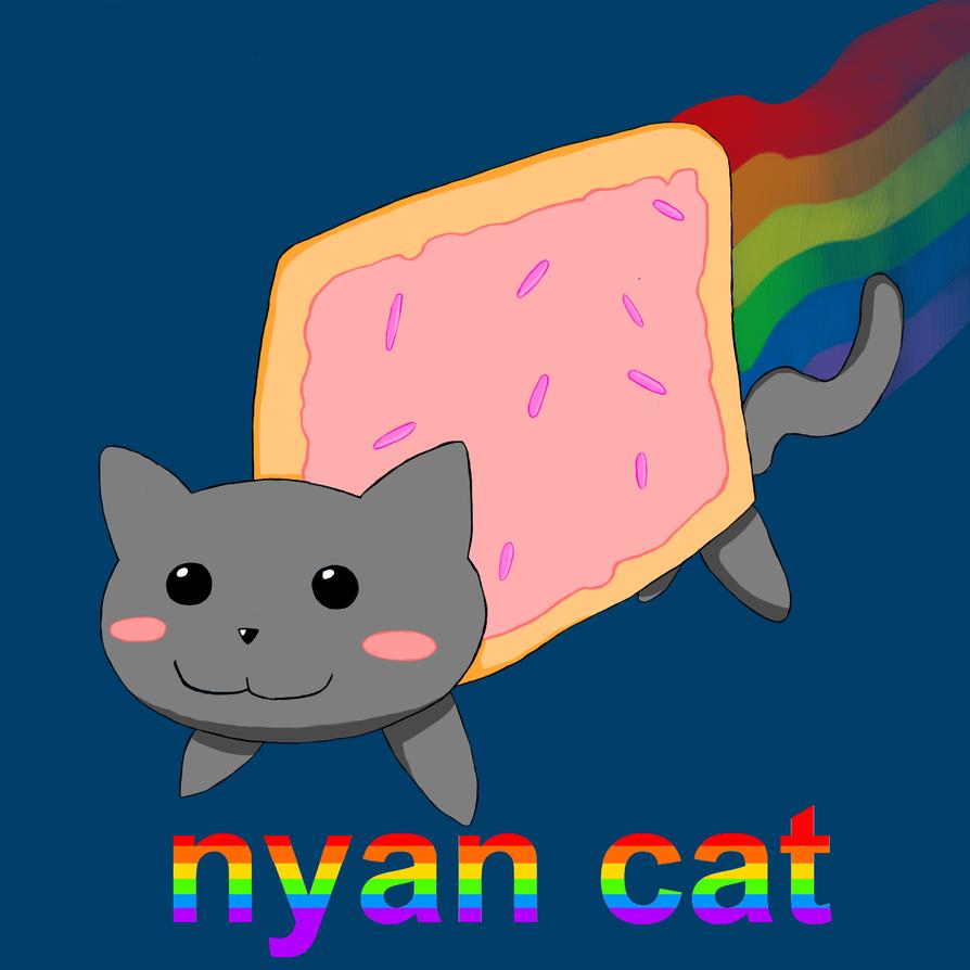 Cherry Pop Tarts Nyan Cat Pop Tart Nyan Cat
