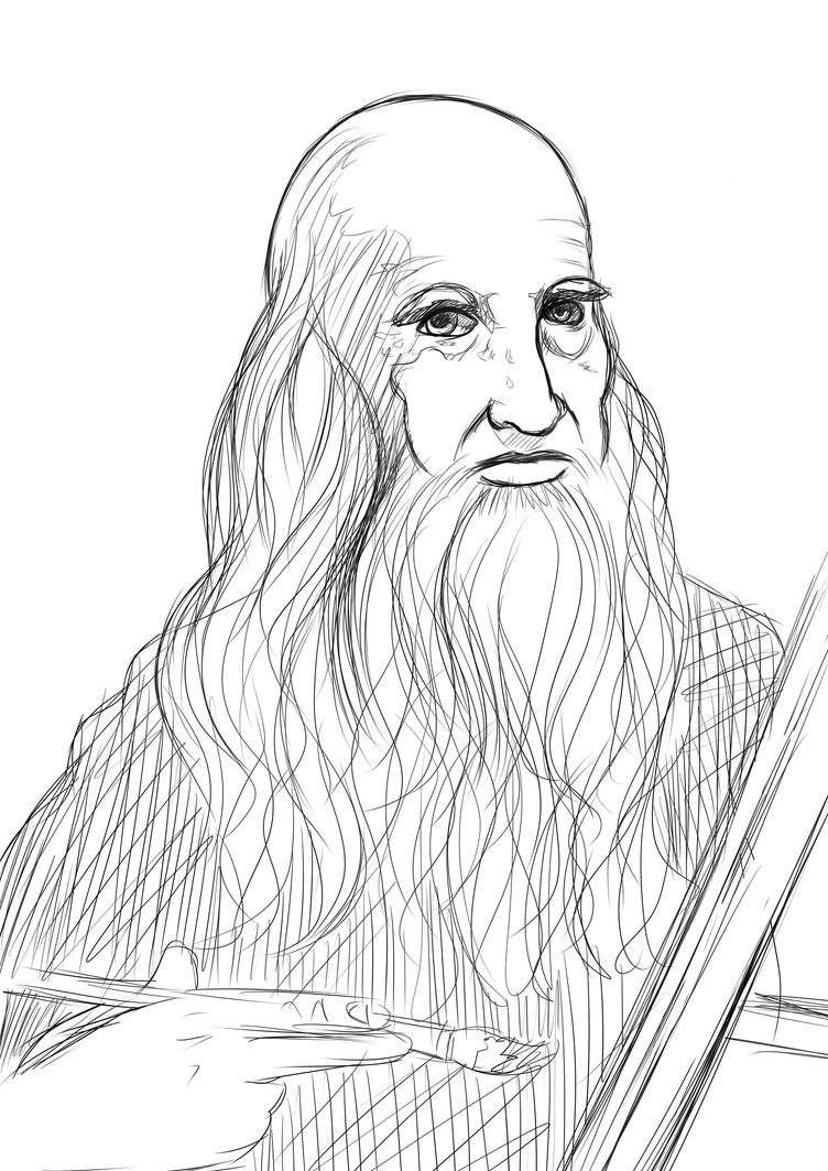 Da Vinci el Pintor by Dav69