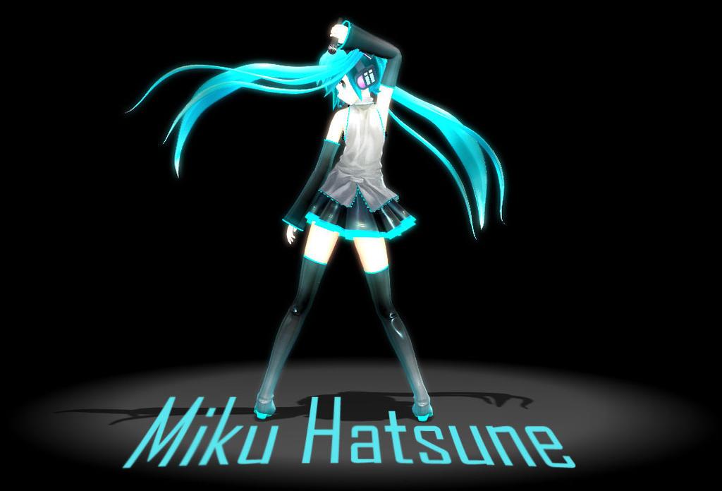 [MMD] Hatsune Miku by chibicookie602