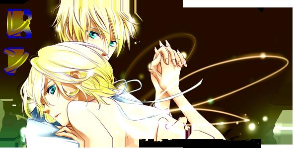 Vocaloid 2 - Kagamine Kyoudai by TamashiiSama