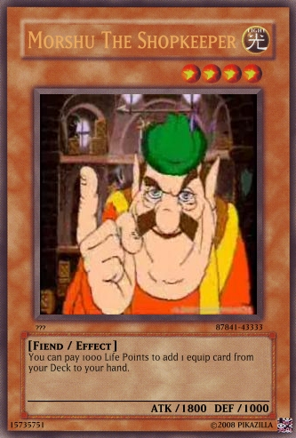 morshu_the_shopkeeper_yugioh_by_pikazilla1956 morshu the shopkeeper yugioh by pikazilla1956 on deviantart,Morshu Meme
