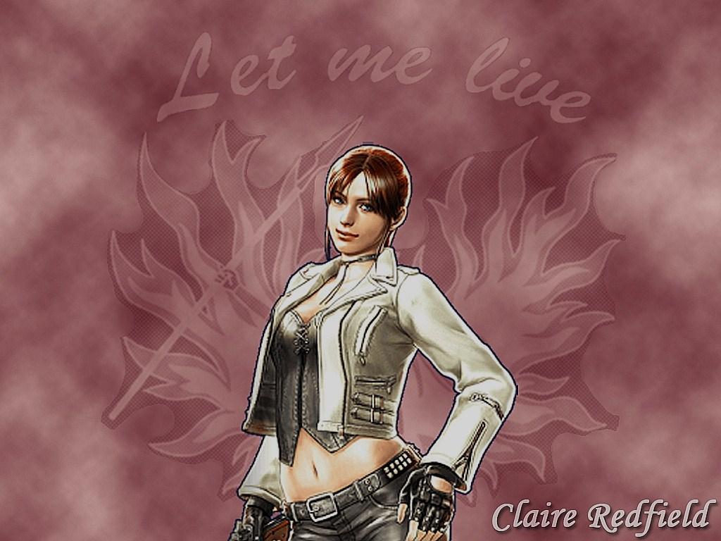 Claire Redfield Wallpaper by XxCherokeeRosexX