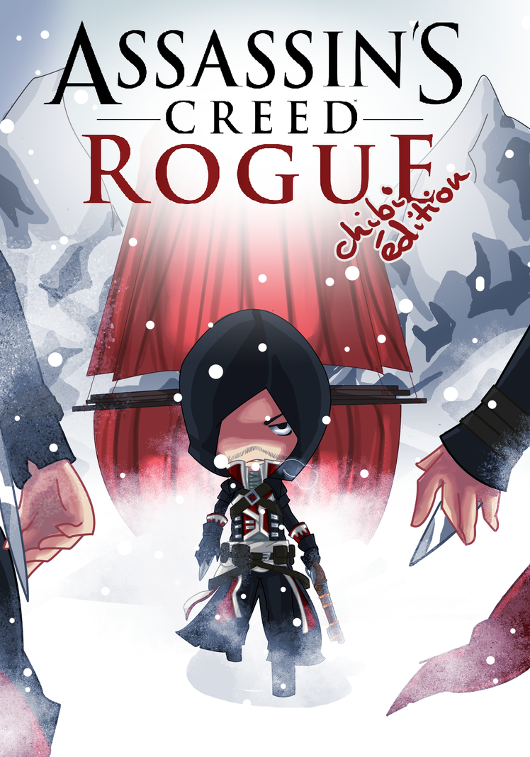 Assassin's Creed Rogue CHIBI EDITION by audettes