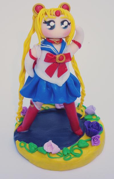 Sailor moon ready for battle! by FairysLiveHere