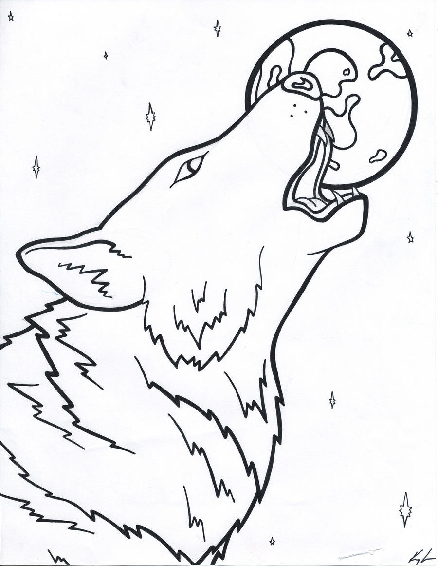 werewolf coloring page - coloring book werewolf by ooogidy boogidy ink on deviantart
