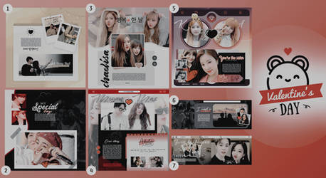 Special templates  +Valentine's day02 {MINIPACK}