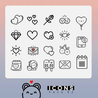 RESOURCES / PNG.Icons02 by Bubblegomi
