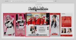 Special templates  +Interpretacion01 {MINIPACK} by Bubblegomi