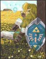Link and Navi by Zachelzolmar