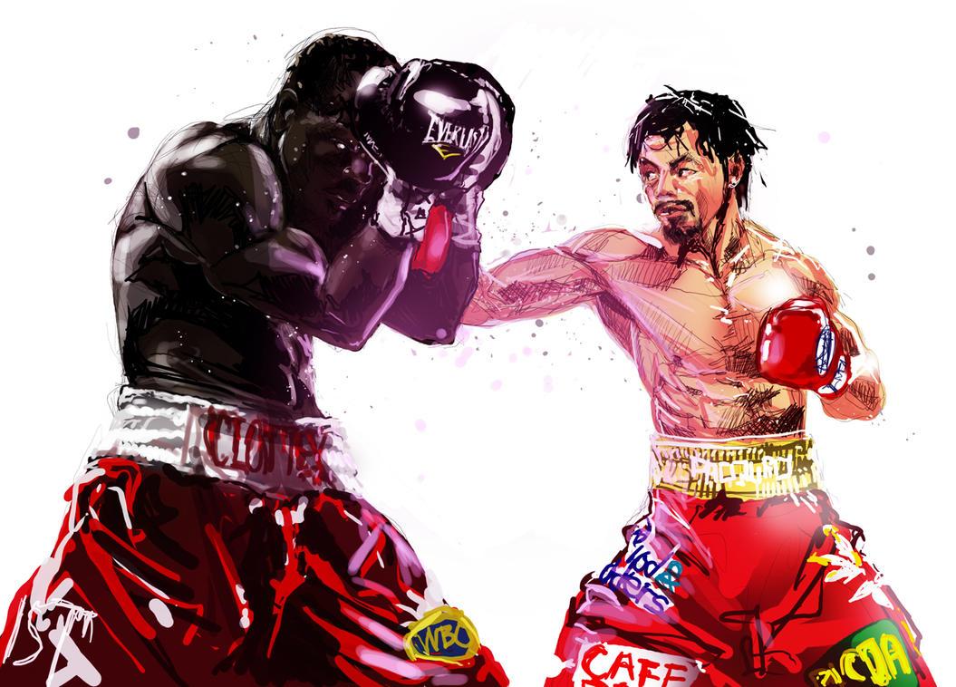 manny pacquiao vs Joshua Clottey by yujiandhisboa