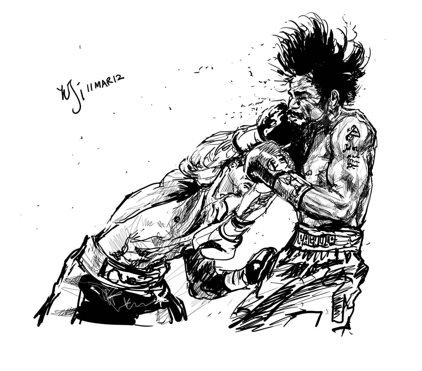 Manny Pacquiao Cartoon Shirt