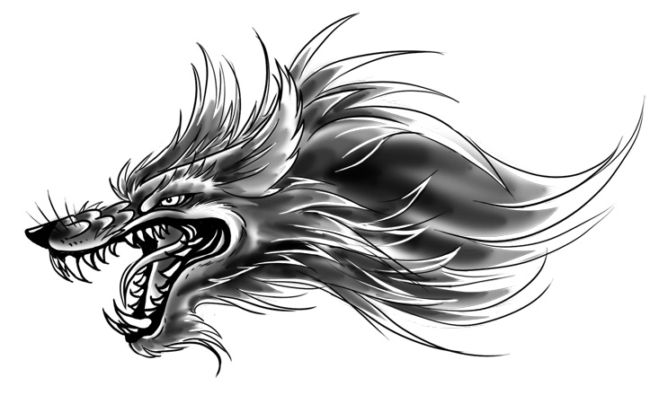 bf8c44a5c8ce7 small wolf head tattoo design by yujiandhisboa on DeviantArt