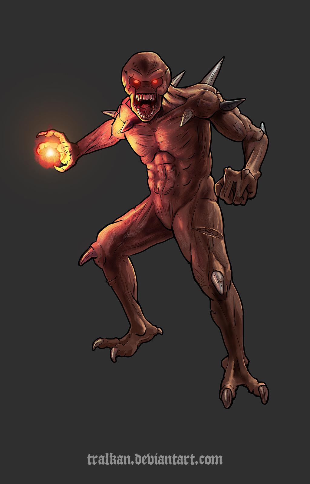 Doom - Imp by Tralkan