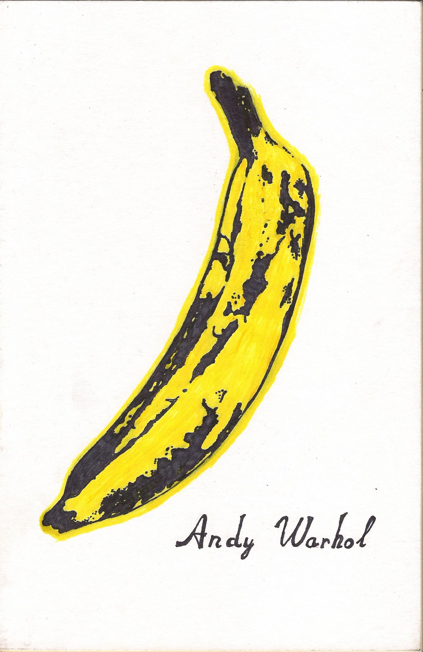 andy warhol pop art banana - photo #1